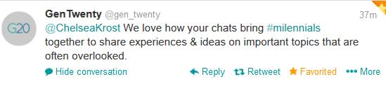 Millennial Talk tweets