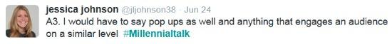 MillennialTalk Twitter chat