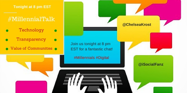 Twitter chat for Millennials