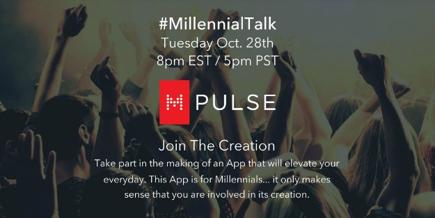 Millennialtalk twitter chat on apps
