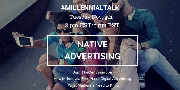 Native advertising and the millennial viewpoint