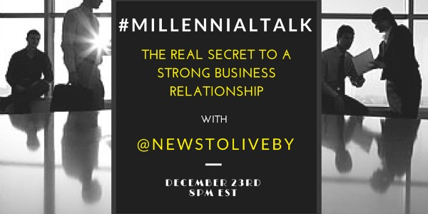 Strong business relationships for millennials