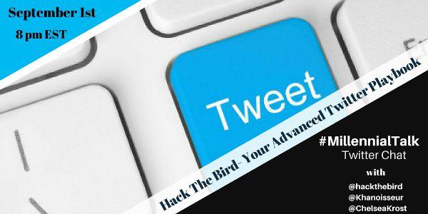 Twitter Strategy on MillennialTalk Chat