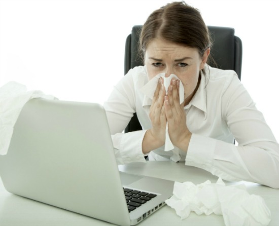 how to survive cold season at the office