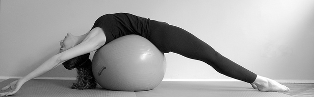 Exericise with pilates