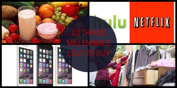 What Millennials Love to buy
