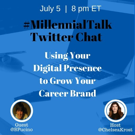 Using Your Digital Presence to Grow Your Career Brand on #MillennialTalk