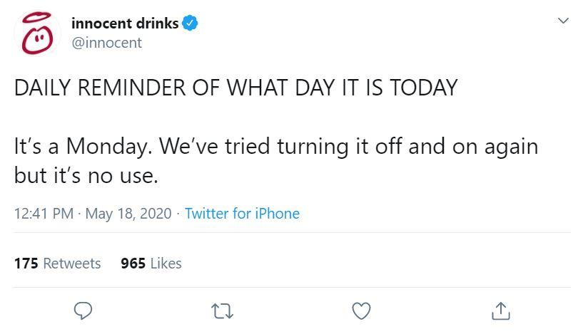 innocent drinks brand