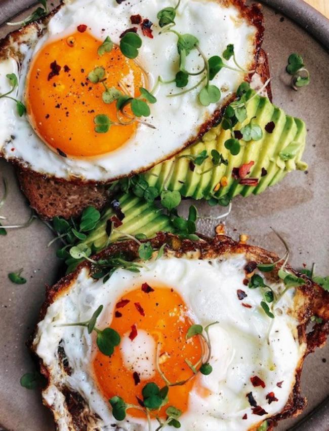 avocado toast for breakfast