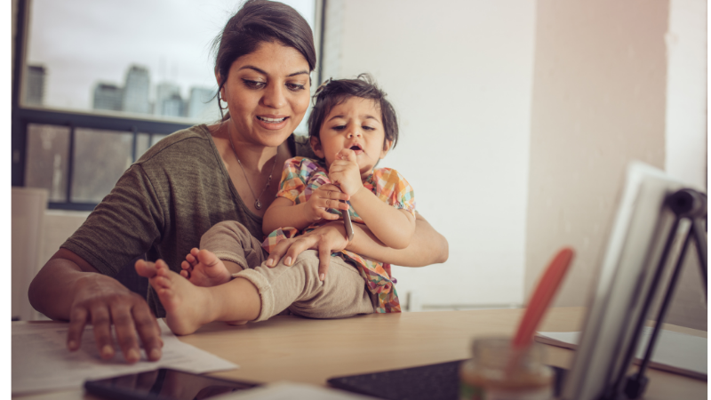 7 Steps to Child-Safe and Productive Workplace at Home